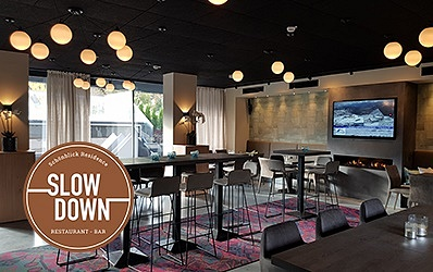 "Ab Dezember 2018 Restaurant - Bar - Café ""Slow Down"""